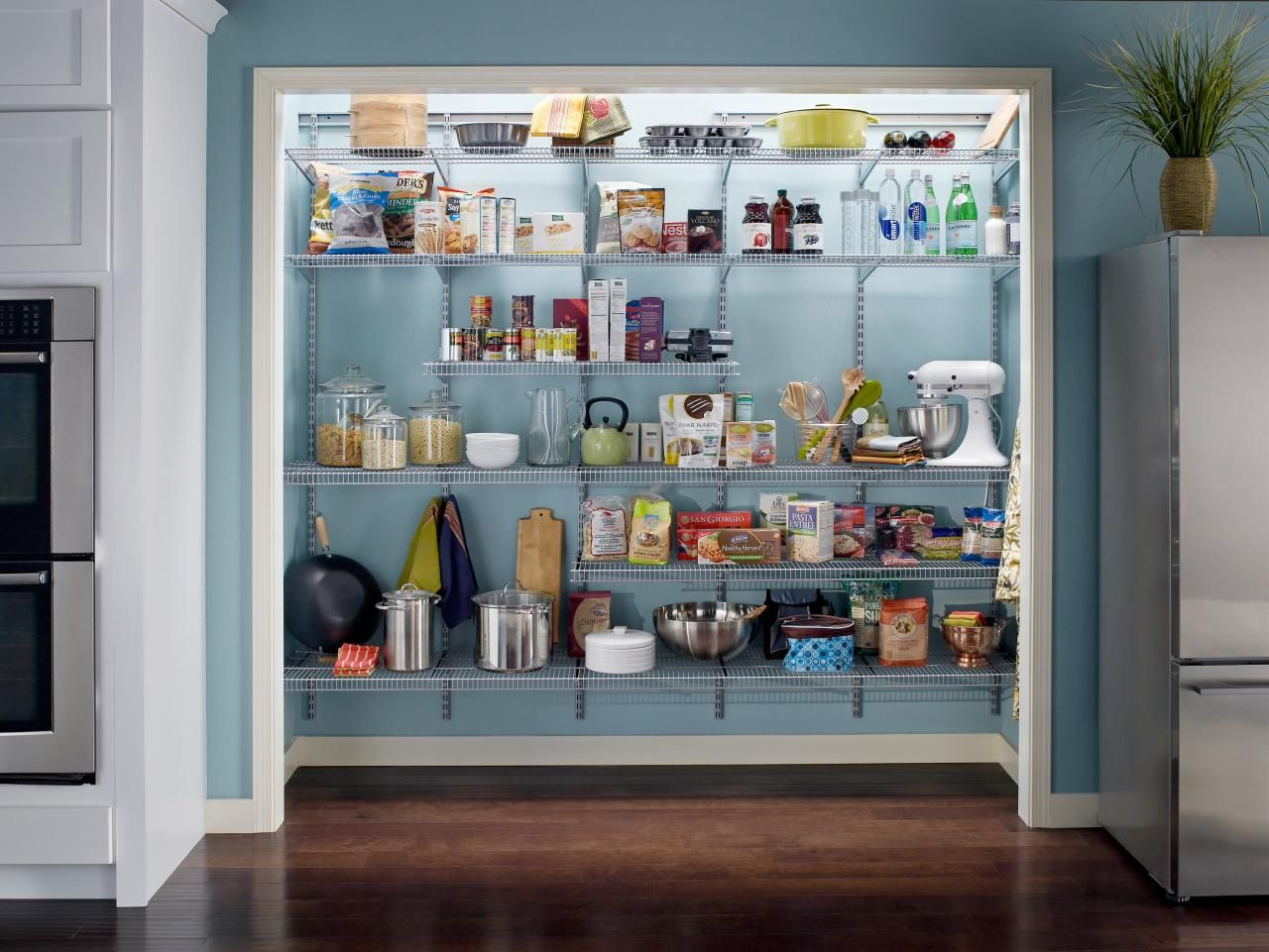 Maintain A Streamlined Kitchen Space With Pantry Shelving And Pullout  Options That Help Make Organizing A