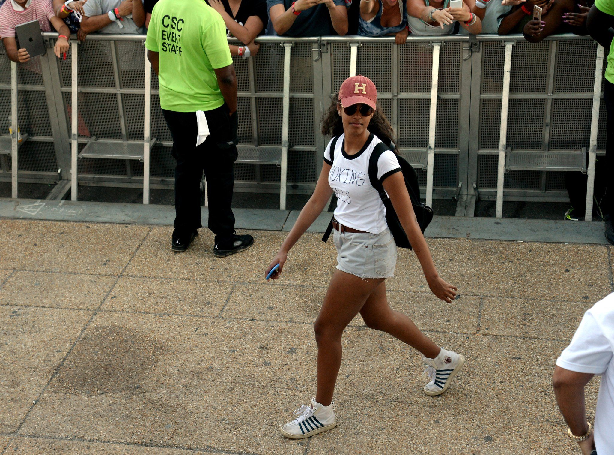 Malia Obama Subtly Twirls on Her Haters at the Made in America Festival