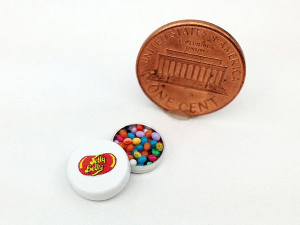 1:12 Scale Dollhouse Miniatures Handmade Jelly Belly Candies Set