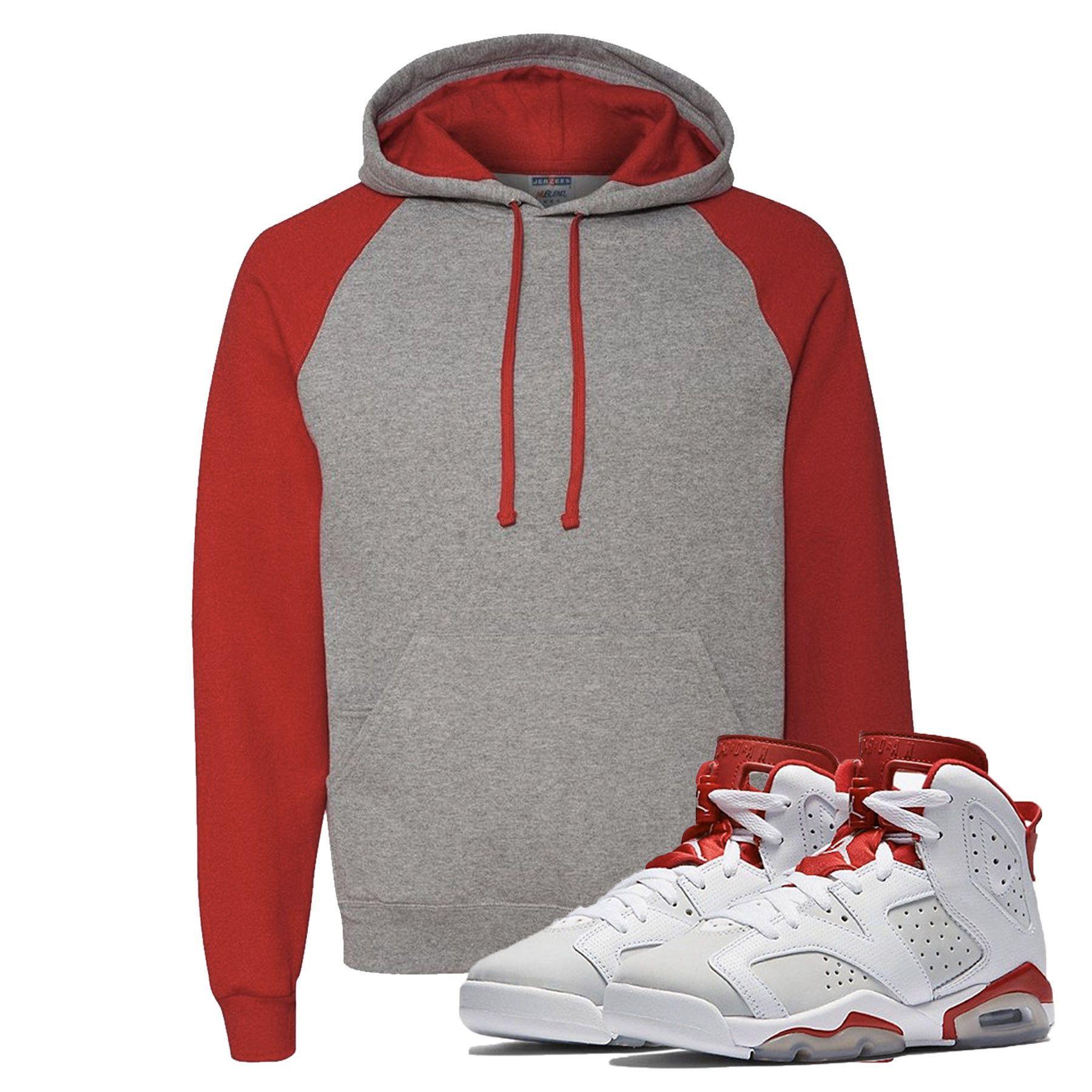 the best attitude c1051 000af RAGLAN HOODIE- Jordan Alternate 6 s Sneaker Match T-Shirt Tees