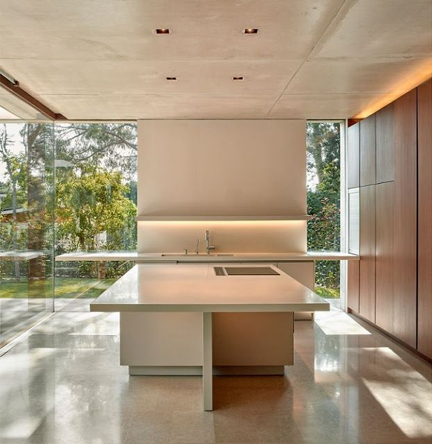 Casas Minimalistas y Modernas: cocinas modernas | Casa | Pinterest ...