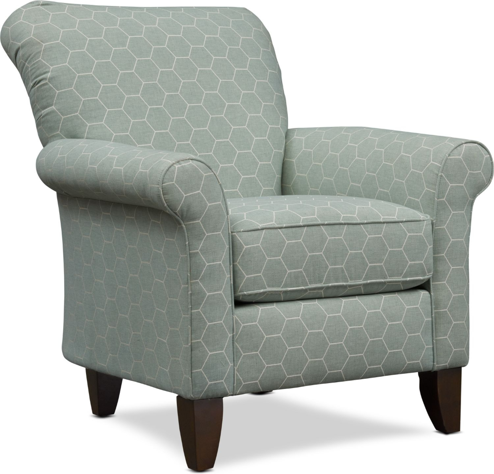 Best Kingston Patterned Accent Chair Value City Furniture 400 x 300