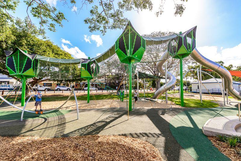 Urban Play Playgrounds Miriam Vale Qld Playground Design Playgrounds Architecture Urban Playground