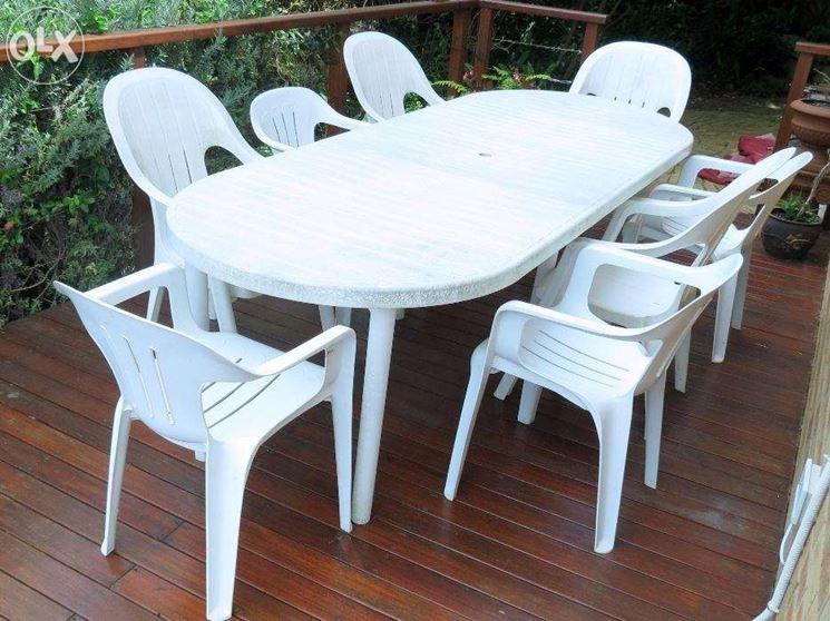 Tavoli E Sedie In Plastica Da Giardino.Ecco Un Ottimo Metodo Per Smacchiare Sedie E Tavolini Di Plastica