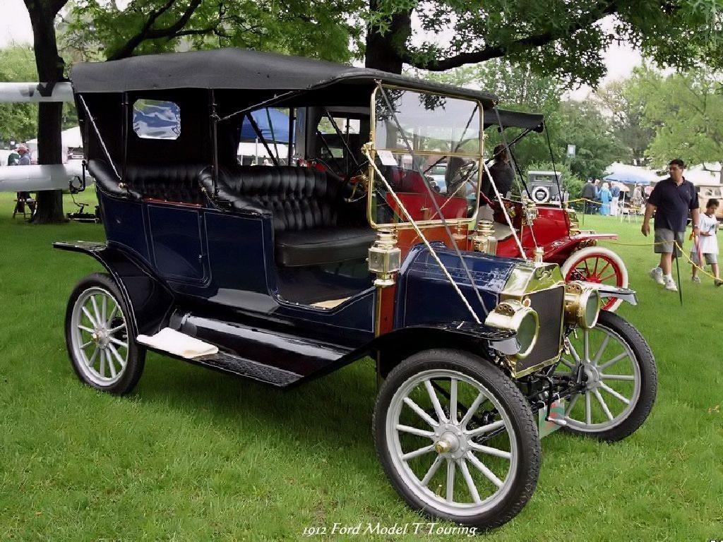 Old cars 1912 ford model t touring