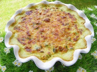 Gratin de courgettes au basilic thermomix blog cuisine - Cuisiner tous les jours avec thermomix ...