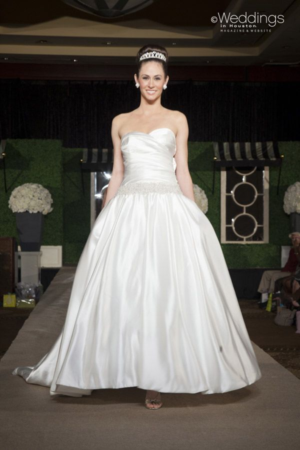077830a9a0c Strapless Princess Style Wedding Gown from Winnie Couture