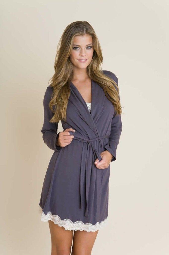"Eberjey - ""Lady Godiva Classic Robe"" | Easier Than It Seams | Pinterest"