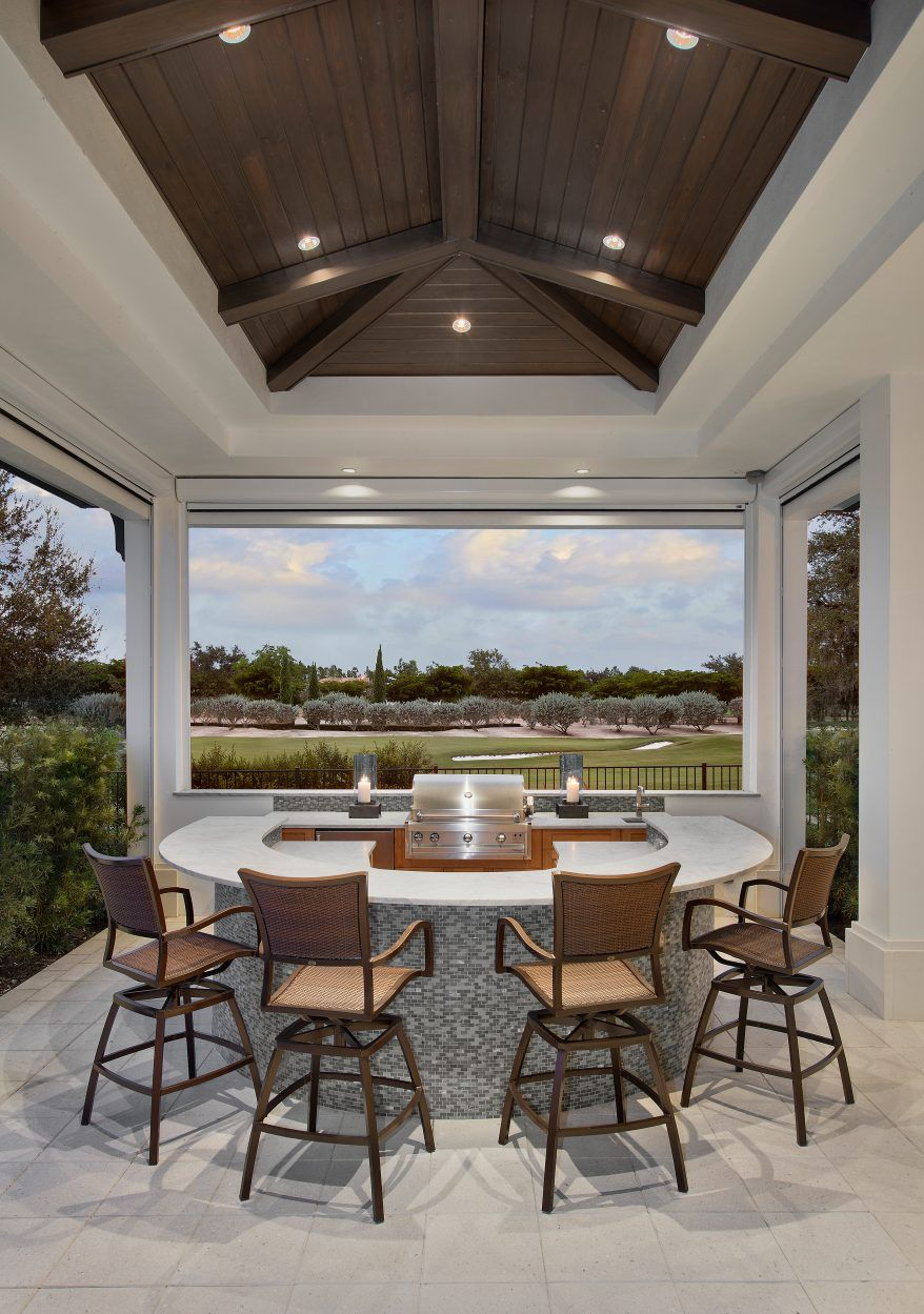 Golf Magazine Dream Home, Golf Course Home Build in Naples