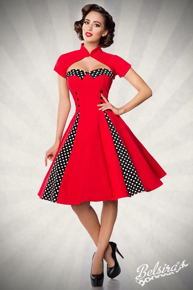 Vintage-Kleid mit Bolero - MEERWEIBCHEN  Kleid mit bolero