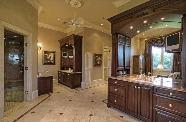 The mansion in flower mound the ultimate luxury home Luxury master bathroom suites