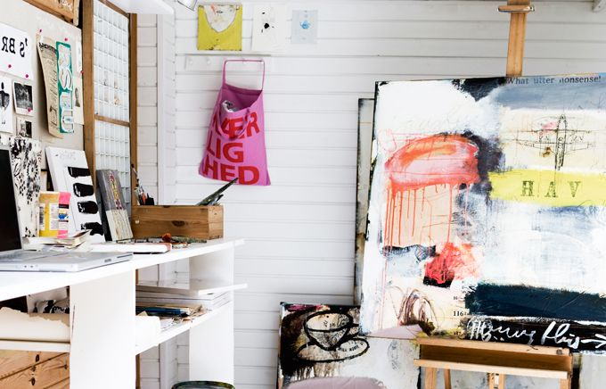Line Juhl Hansen's summer studio
