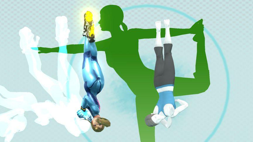 Zero Suit Samus & Wii Fit Trainer - Super Smash Bros, Wii ...