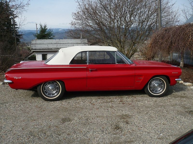 1962 Pontiac Tempest Lemans Convertible Available In Kelowna Bc