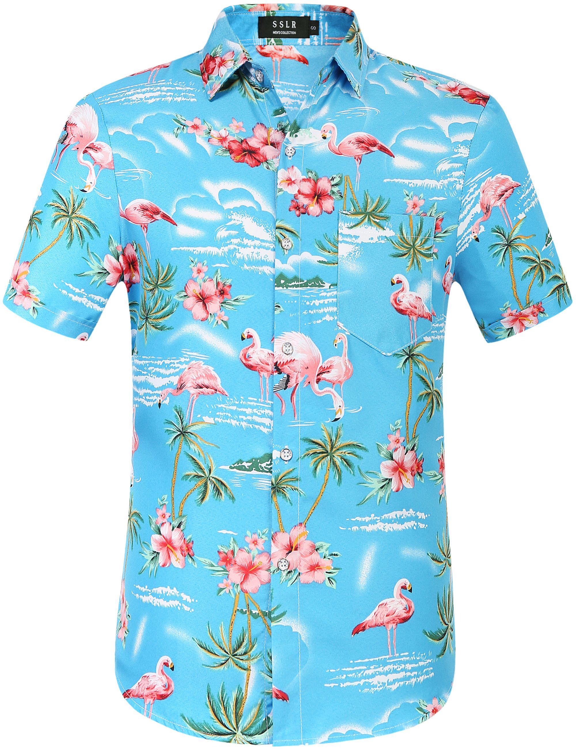 SSLR Hawaiian Shirt | Shirts, Mens hawaiian shirts, Hawaiian shirt