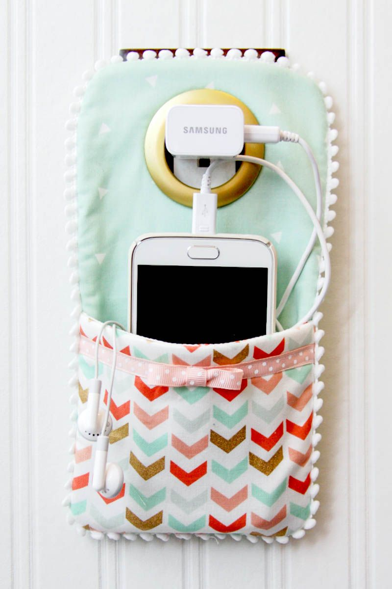 3 Easy Diy Storage Ideas For Small Kitchen: Easy DIY Phone Charger Holder