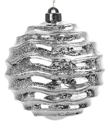 Loving this Silver Wave Solar Orb Ornament on #zulily! #zulilyfinds