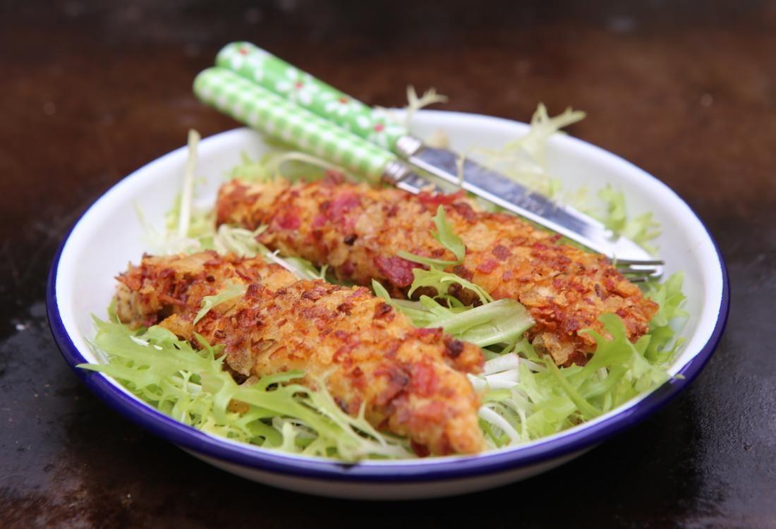 Aiguillettes de poulet croustillantes | Recette | Poulet ...