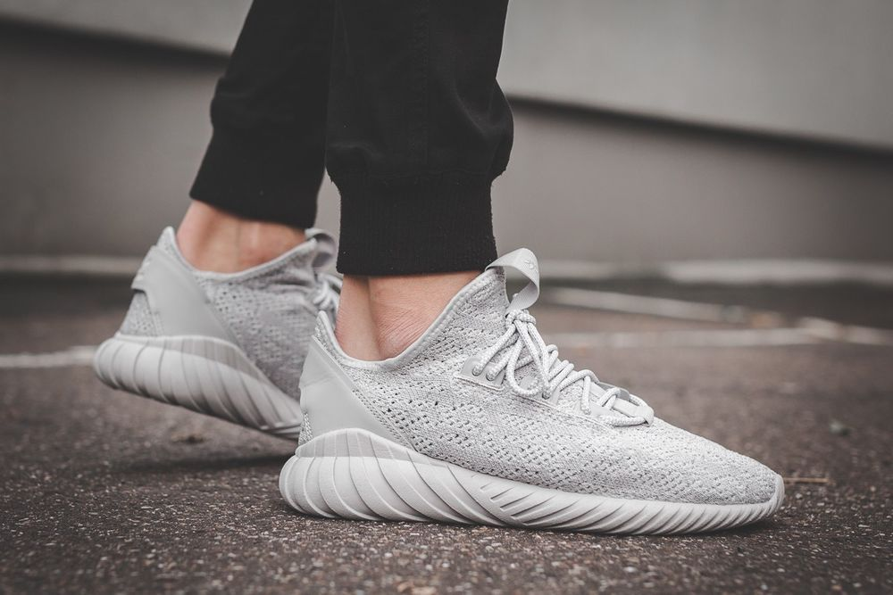 Adidas Tubular Doom Sock Pk Cg5512 Grey Two White Hi Res