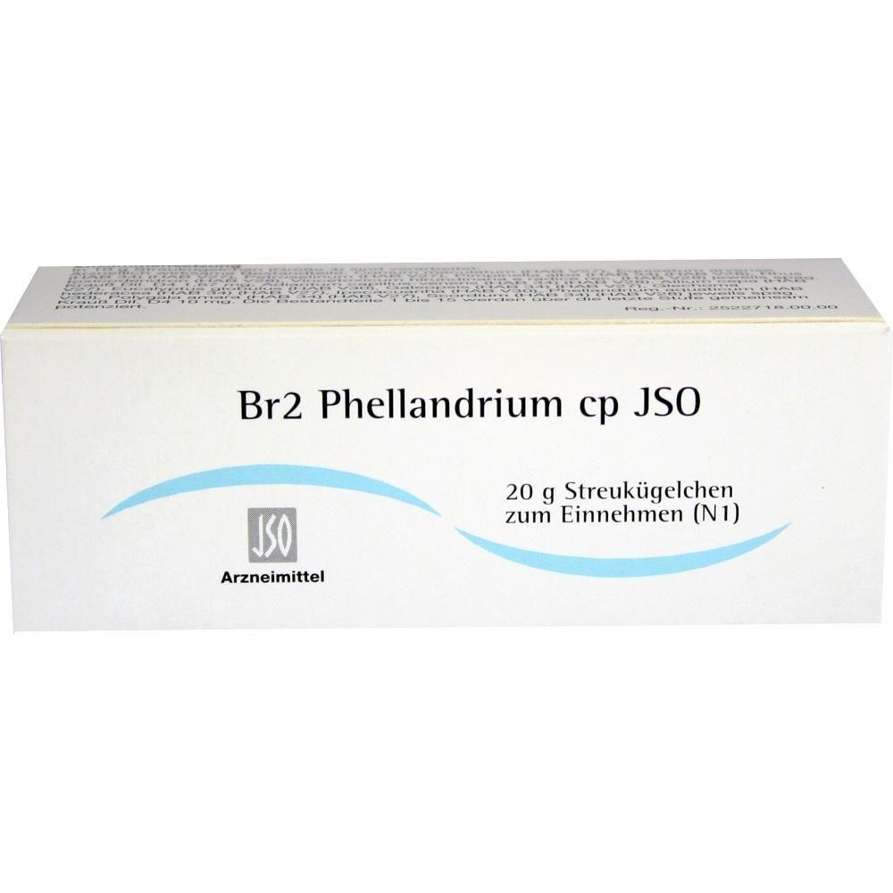 JSO JKH BRUSTMITTEL Br 2 Phellandrium cp Globuli:   Packungsinhalt: 20 g Globuli PZN: 04942242 Hersteller: ISO-Arzneimittel GmbH & Co. KG…