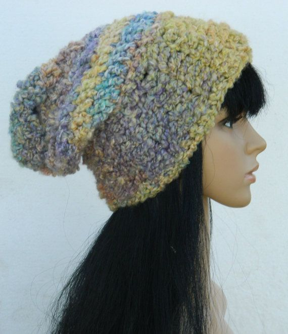 Slouchy Beanies Thick Slouch winter Hats Adults by nattirootz, $28.00