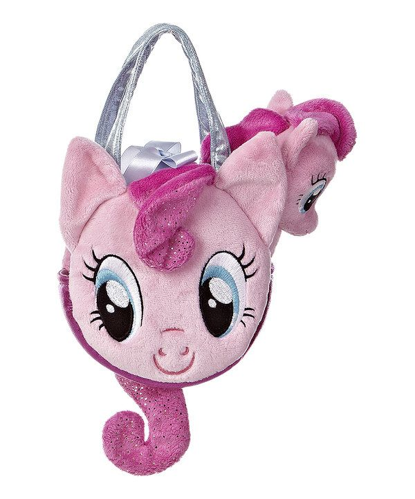 Look at this My Little Pony Pinkie Pie Pony Tail Carrier & Plush Toy on #zulily today!