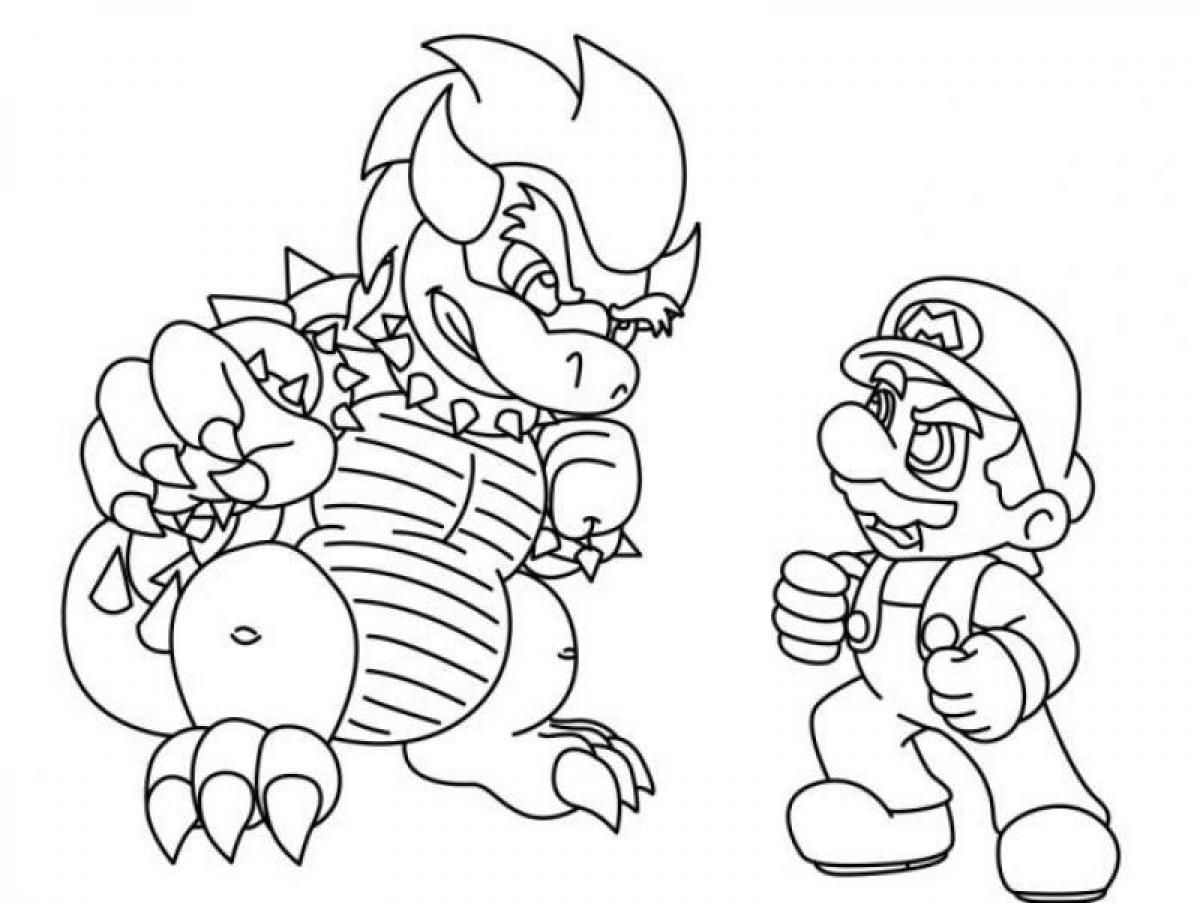 Bowser Coloring Mario Pages 2020 Check More At Http Coloring