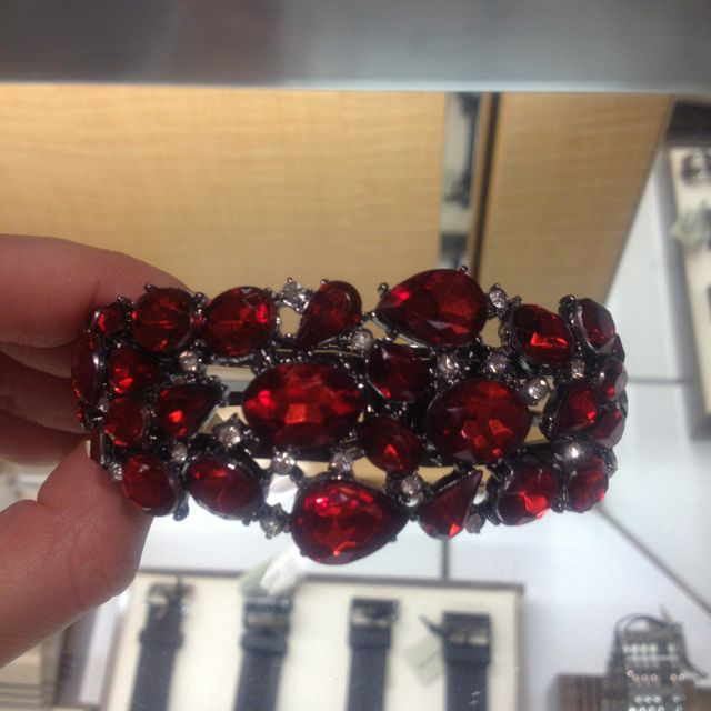 Ruby bracelet. Macy's