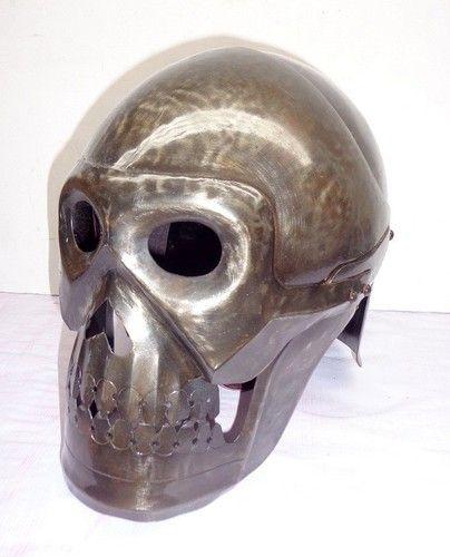 "Medieval ""Skull Skeleton Armor Helmet""SCA LARP Halloween ..."