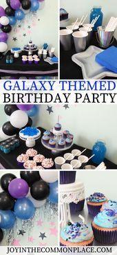 Veranstalten Sie eine Geburtstagsfeier zum Thema Galaxy für Kinder Entdecken Sie Galaxien u Veranstalten Sie eine Geburtstagsfeier zum Thema Galaxy für Kinder E...
