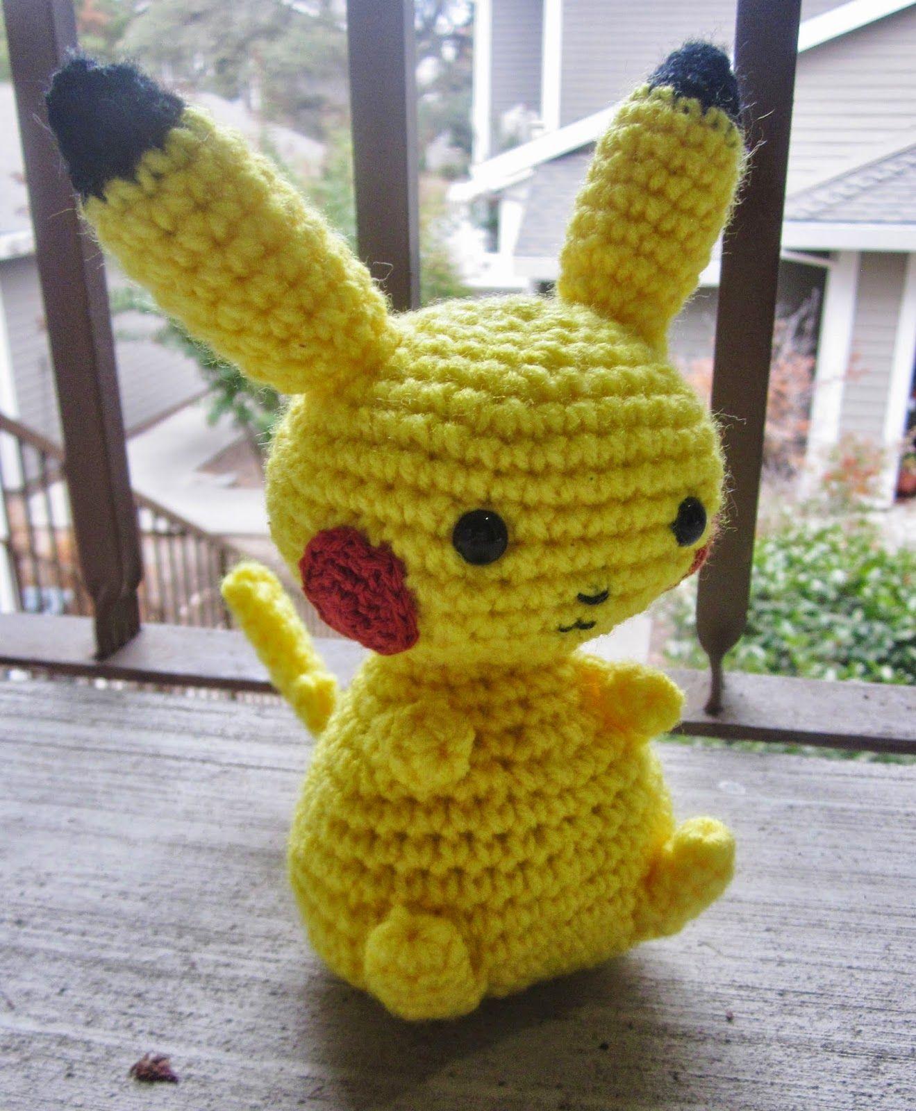 Craft Sauce: Another Pikachu Pattern | Hobbies & Crafts | Pinterest ...