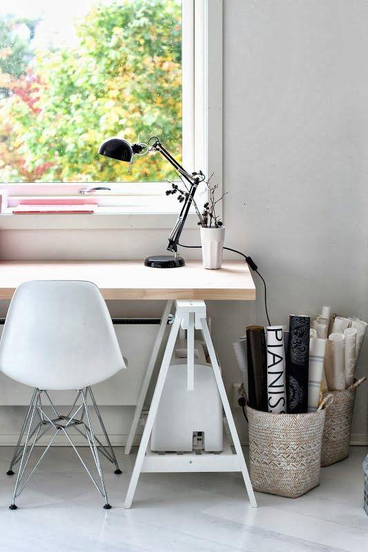 Como hacerte un despacho n rdico low cost oficina en for Arredamento nordico low cost