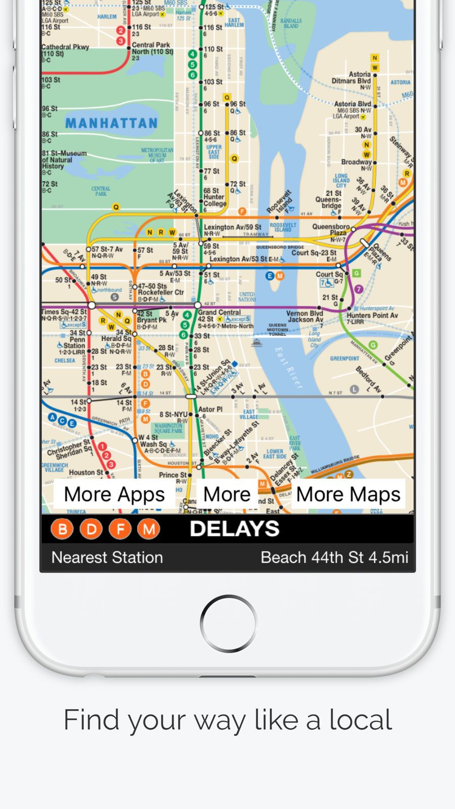 New York City Subway Map TravelNavigationappsios