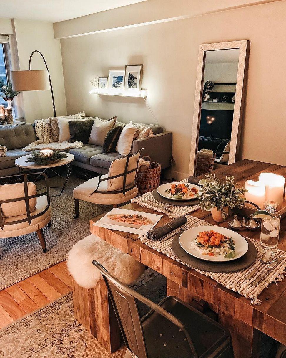 200+ Cozy Apartment Living Room Decor Ideas on Budget ... on Awesome Apartment Budget Apartment Living Room Ideas  id=45475