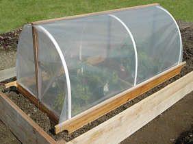 Diy Portable Garden Cloche Plans With Images Garden Cloche