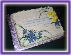 Reception Cake For Funeral In 2020 Funeral Cake Funeral