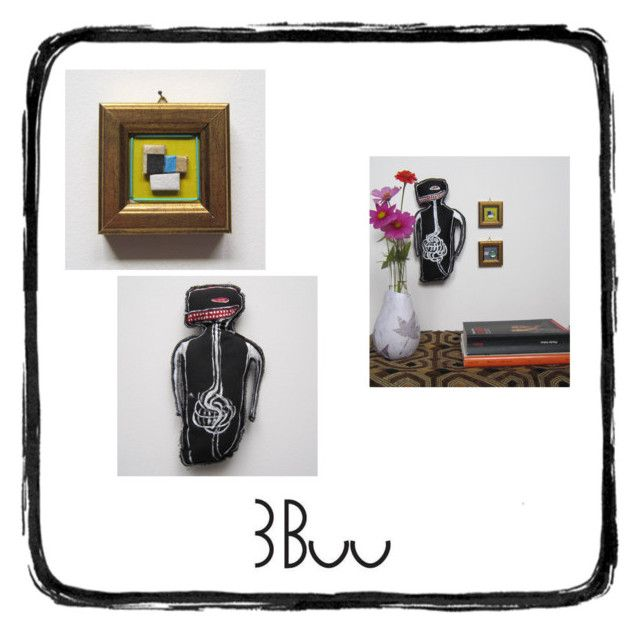 """3Buu"" by info-3buu on Polyvore featuring arte, art e Etsyfinds"