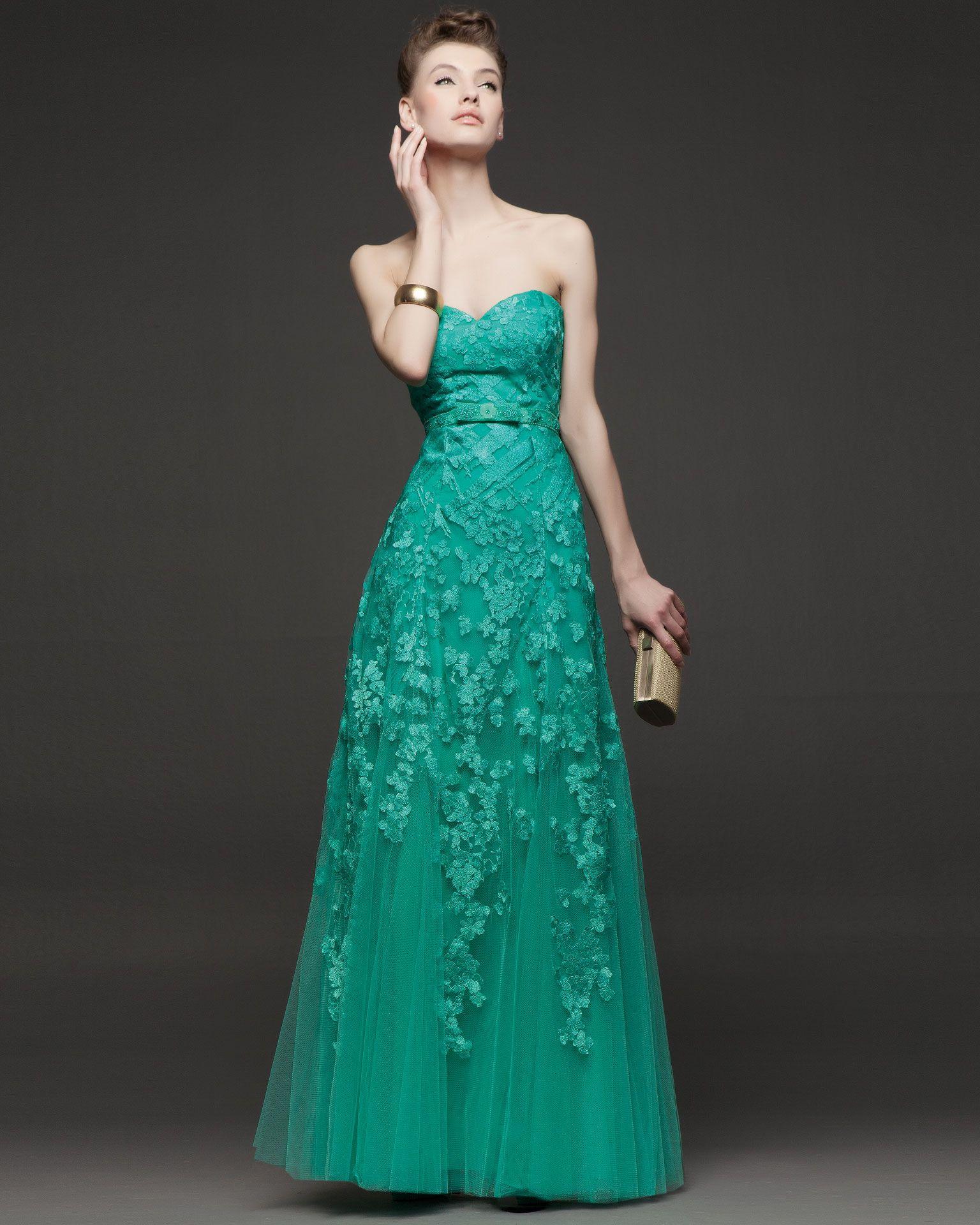 2d8373783 lindo con tiras o mangas vestido largo de fiesta