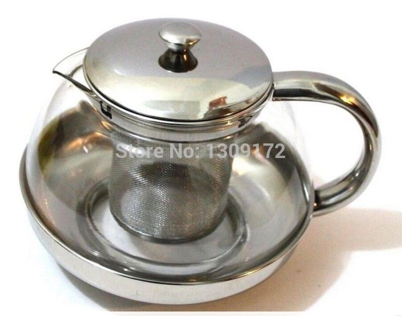 Cheap Coffee & Tea Sets, Buy Directly from China Suppliers:Coffee Tea pot Stainless Steel Faced Modern Teapot with filter heat resistant glassItem No.:KA104Color: Clear
