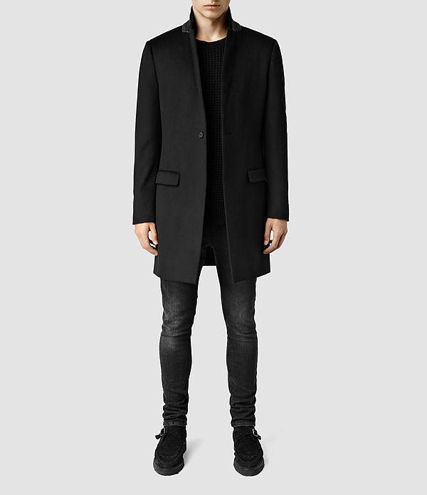 Herren Ide Coat (Black) -