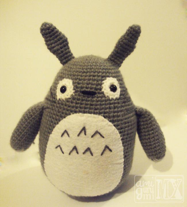 Mi mundo: Amigurumi MX: Patrón amigurumi gratis: Totoro!   peinados ...