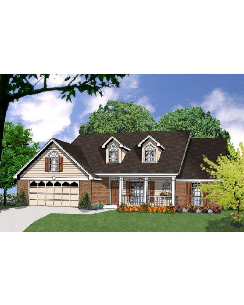 AmazingPlans.com House Plan #RKD-1659-10 - Country