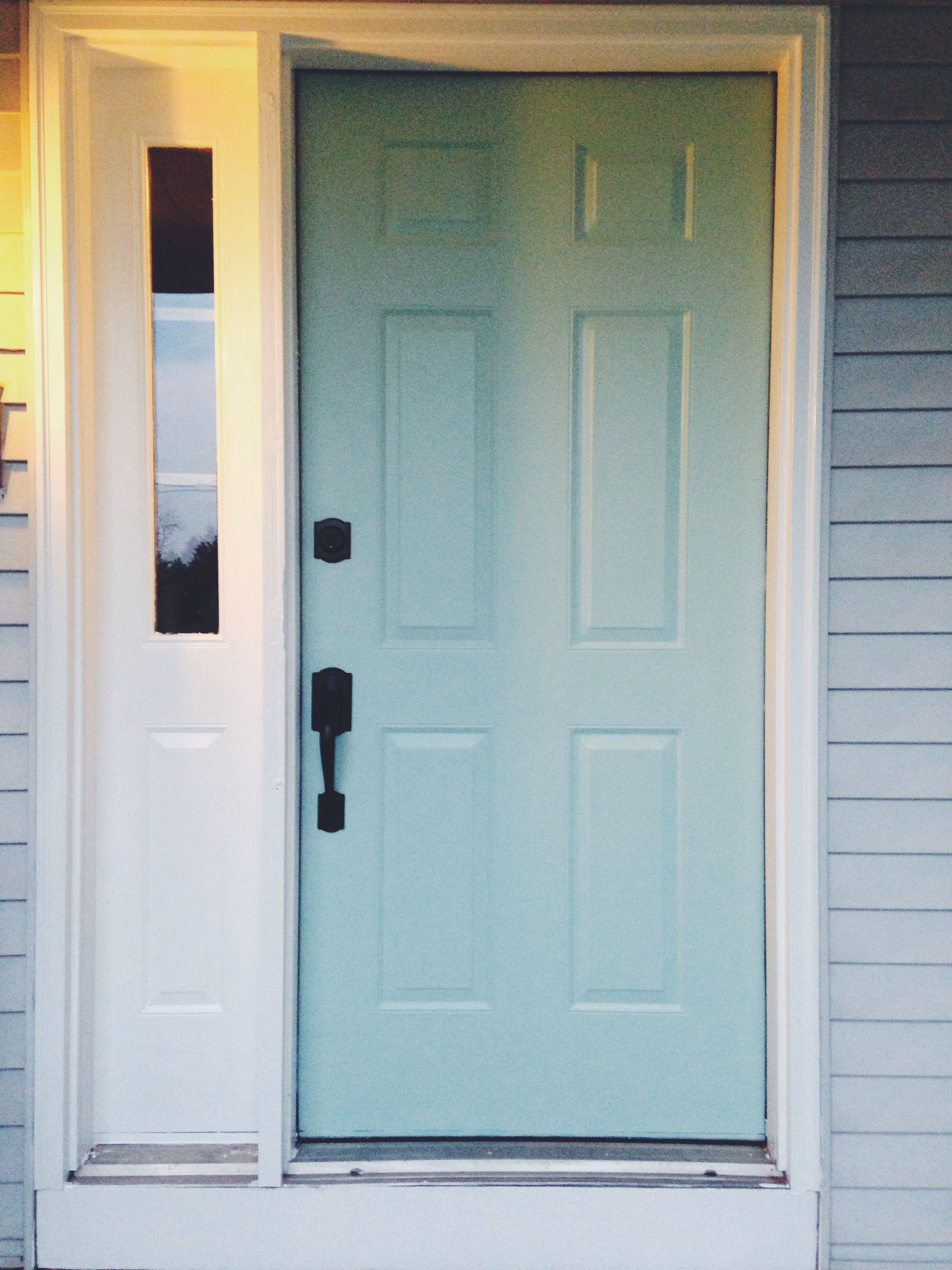 Wythe Blue Sherwin Williams Lovely Blue Our New Front Door Sherwin Williams Waterscape Sw