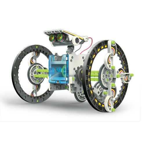 Kit constrói robôs solares 14x1 ECO-ROBOT