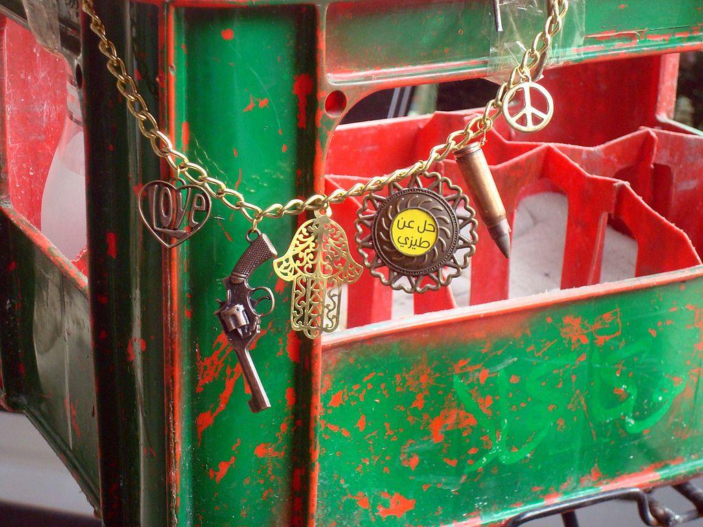 Beiruti bling by Zinab Chahine @ http://ctrlzjewelry.com