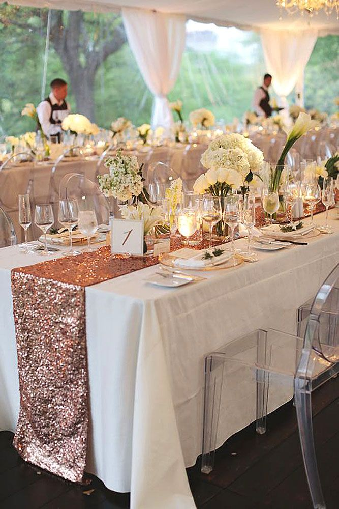 30 Most Luxury Gold Wedding Decorations Wedding Forward Gold Wedding Decorations Table Runners Wedding Rose Gold Table