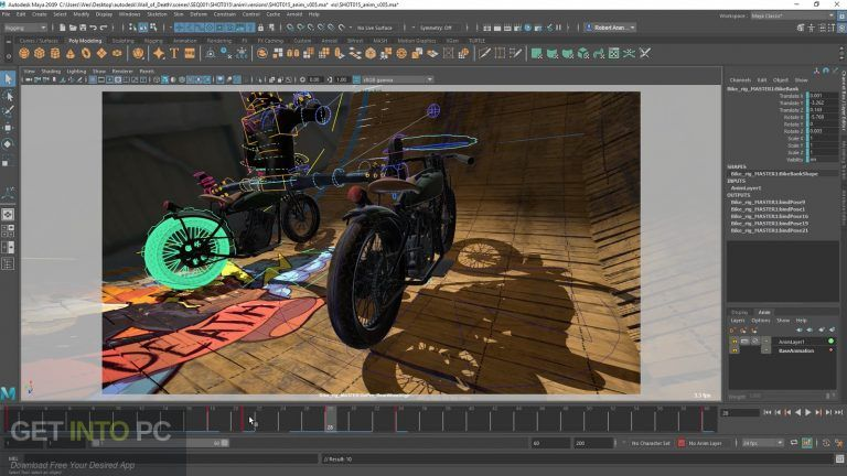 Autodesk Maya 2019 Direct Link Download Getintopc Com 3d Animation Full Movies Download Autodesk