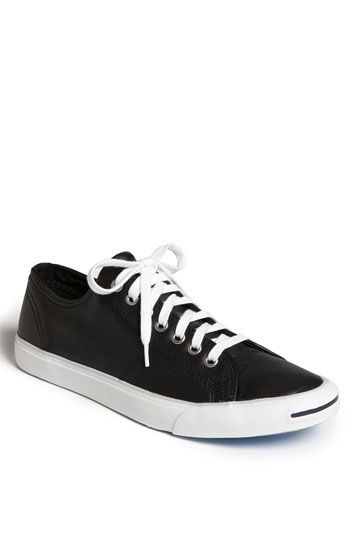 reputable site a2b5d b858c Jack Purcell Race Around Sneaker in Black Leather