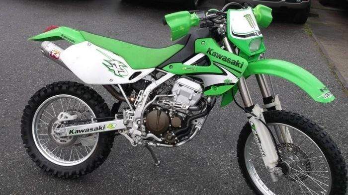 Kawasaki Dirt Bikes For Sale 2007 Kawasaki Klx 300 4 Stroke Dirt
