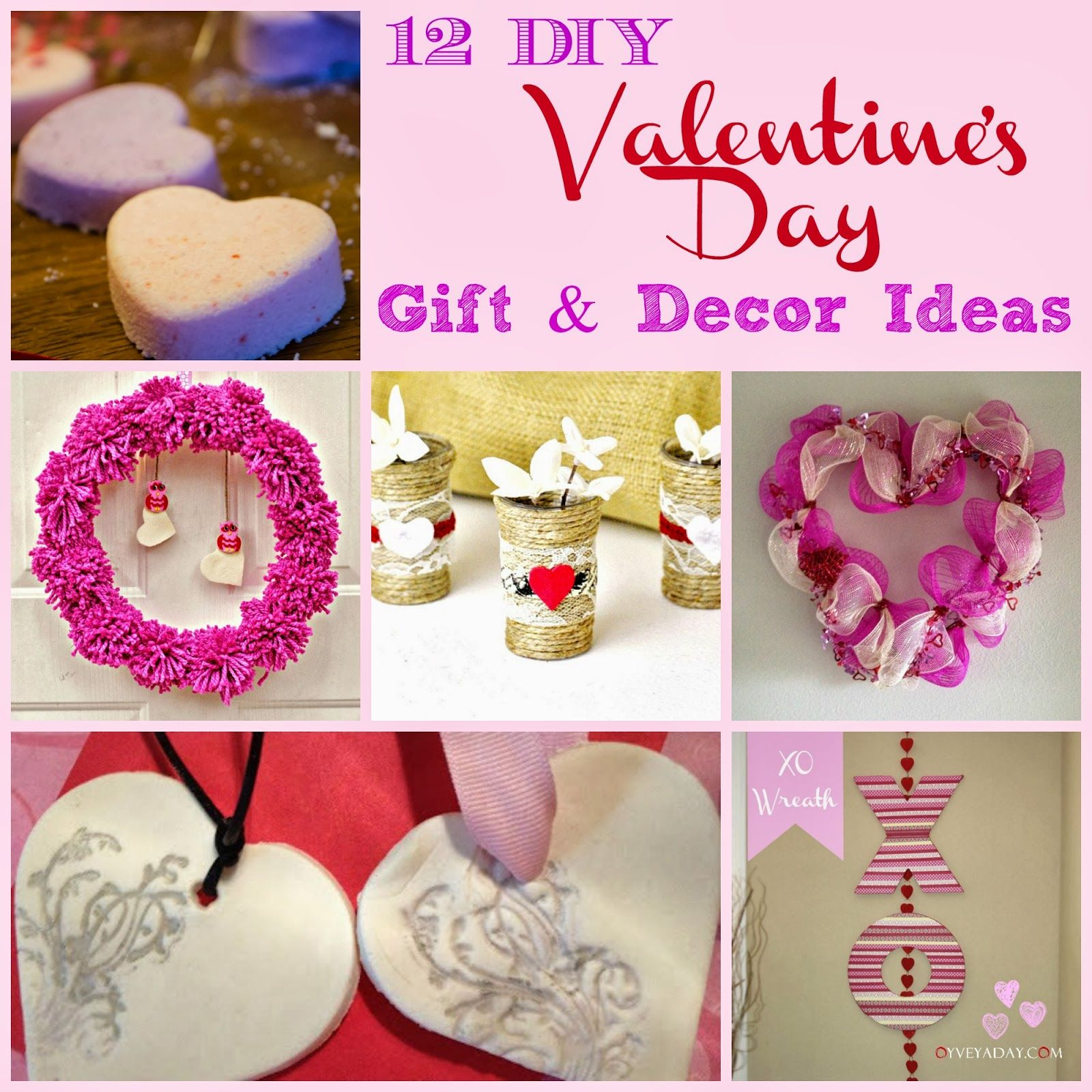 Good Diy Valentine Gifts Part - 5: 12 DIY Valentineu0027s Day Gift U0026 Decor Ideas - Outnumbered 3 To 1